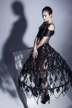 Designer Louisa Haywood, Contour Fashion BA (Hons)