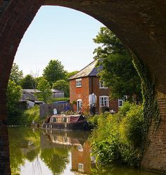 Burbage Wharf on the Kennet and Avon Canal by Anguskirk, via Flickr