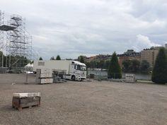 Losser sceneudstyr i Stockholm