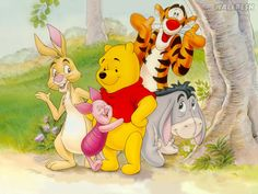winnie the pooh and friends | Winnie the Pooh | Papéis de parede Pooh Infantil, fotos, imagens e ...
