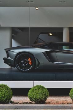 House your Lambo inside to protect it. #Lamborghini #Luxury