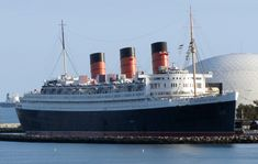 Queen Mary - current home in Long Beach!  Filmed Stargate in the dome in 1994 and Lived on the Queen Mary for three months!