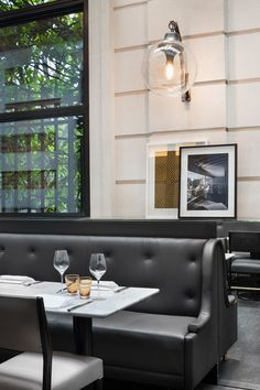 Café Artcurial Restaurant - Paris. #Restaurant #Decor