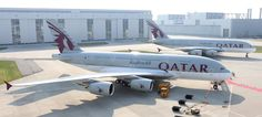 Qatar Airways A380 For more: http://www.tipsfortravellers.com/qatar-airways-a380-review/ #qatarairways #A380inaugural