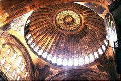 Pendentive Dome Byzantine Image hagia-sophia-dome for