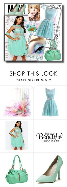 """""""set 82"""" by fahirade ❤ liked on Polyvore featuring Forever Unique, Dasein and Vices"""