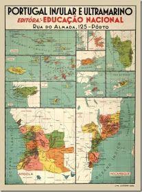 Map of the Portuguese colonial empire Portuguese Empire, Portuguese Culture, Vintage Advertisements, Vintage Ads, Vintage Posters, History Of Portugal, Old Scool, Alternate History, Vintage School
