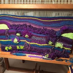 Tapestry weave ready to take off my loom