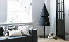 Here are 10 creative ideas for alternative Christmas trees this year.