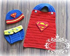 Superman hat and diaper cover set baby superman superman #babydiapercover