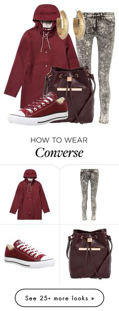 """""""Totally Trending 11-12"""" by emill1042 on Polyvore featuring rag & bone, Stutterheim, Ted Baker, Converse and House of Harlow 1960"""
