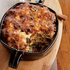 Dave Matthews loves making this casserole, layered with roasted zucchini, mushrooms, tomato sauce, feta and provolone. It's his version of the Croatia...