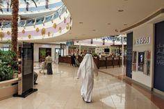 At the Marina Mall of Abu Dhabi