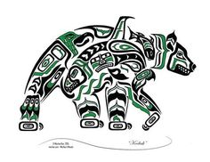 Kodiak - Haida, Tlingit, Native American Bear Art