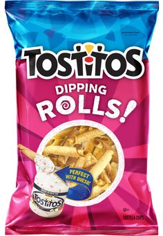 TOSTITOS® ROLLS!™ Tortilla Chips