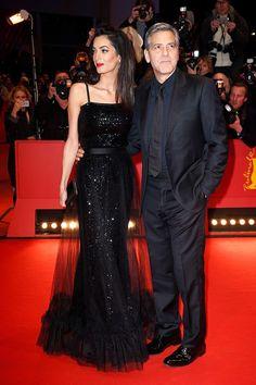 Amal Clooney Stuns in a Vintage Yves Saint Laurent Gown via @WhoWhatWearUK