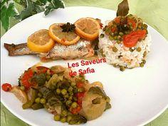 """Dorade royale Recette  sur Facebook """"Les Saveurs de Safia"""""""