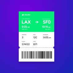 Ticket, Daily Ui, Mobile Web, Ui Ux, Mood Boards, Conference, Bar Chart, Boarding Pass, Design Inspiration