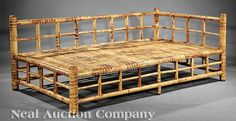 Indonesian Bamboo Daybed