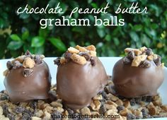 shaken together: {taste this} chocolate peanut butter graham balls