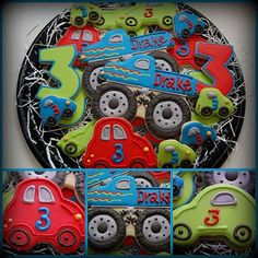 Car and Truck cookies