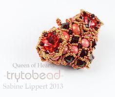 New Queen of Hearts - trytobead
