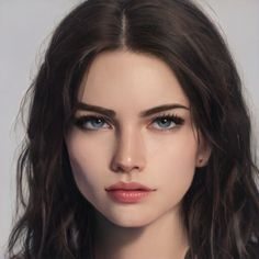 Fantasy Art Women, Beautiful Fantasy Art, Dark Fantasy Art, Digital Art Girl, Digital Portrait, Portrait Art, Art Drawings Sketches, Cute Drawings, Character Portraits