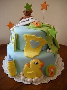 baby shower cake ideas - Buscar con Google