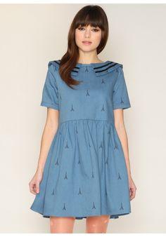 Dress Gillian Eiffel - Pepaloves
