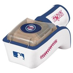 MLB Minnesota Twins Frost Boss Can Cooler  https://allstarsportsfan.com/product/mlb-minnesota-twins-frost-boss-can-cooler/  Only 3 AA Batteries and ice required Portable beer/soda can chilling device Room temperature to ice cold in 2 minutes