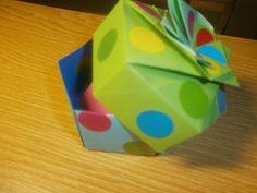 Unidad 4.-El origen de la forma: Génesis. Del plano al volumen. Origami.