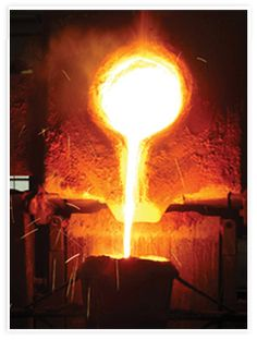 Molten Metal.  Pour into a cast. See email.