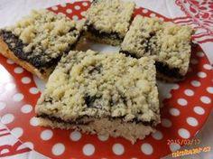 -Makový koláč drobenkový-HRNKOVÝ-celkem rychlý Krispie Treats, Rice Krispies, Desert Recipes, Ham, Smoothies, Baking, Food, Poppy, Smoothie