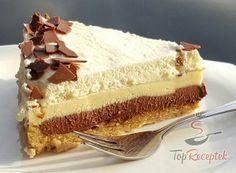 Dort Twilight s chutí cappuccina Czech Desserts, Greek Desserts, Cakes Plus, Czech Recipes, Sweets Cake, Mini Cheesecakes, Sweet And Salty, No Bake Cake, Vanilla Cake