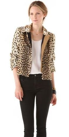 To die for Leopard Jacket By Malene Birger