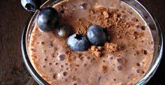 Chocolate-Blueberry Milkshake (and other healthy meals that can be made in less than 12 minutes)