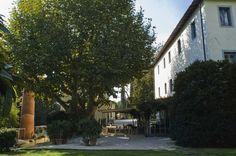 Set in a peaceful garden with aged-old trees, @villalabianca is a charming country residence in Camaiore, Tuscany