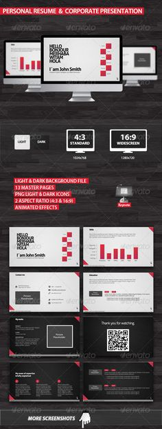 presentation templates on pinterest