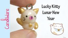 Hi Sweets~ Happy Chinese New Year! I wanted to make something with this them in mind. I hope you enjoy this mini lucky kitty charm. All materials to this pro...
