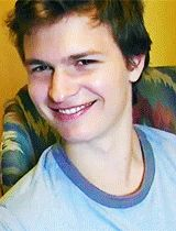 Please take a moment to watch this gif of Ansel Elgort's eyebrows.