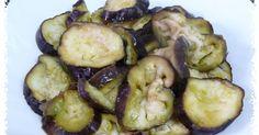 Berenjenas aliñadas (pendiente) Cals: 112kcal | Grasa: 5,07g | Carbh: 17,10g | Prot: 3,03g La berenjena es una de las hortalizas más ...