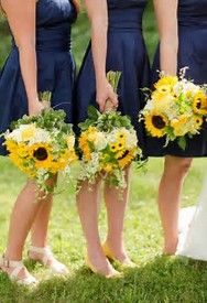 Image result for Sunflower Wedding Bouquets