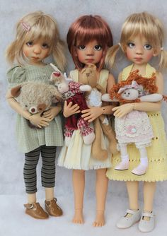 Beautiful dolls by Kaye Wiggs