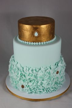 Wedding Cake, Best Buttercream Wedding Cake Designs: Buttercream Wedding Cake Designs for Your Elegant Wedding Metallic Cake, Gold Cake, Best Buttercream, Buttercream Wedding Cake, Gorgeous Cakes, Amazing Cakes, Round Wedding Cakes, Wedding Cake Designs, Wedding Ideas