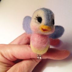 Bluebird on Ring for #Snow White #Cinderella by MelaniesMenagerie #Halloween #costumes
