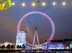 London Eye as Mood Ring