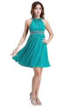 Amazon.com: eDressit One Strap Cyan Evening Dress Prom Ball Gown ...