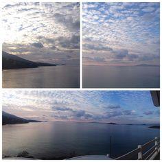 instagram @hotelperrakis_andros Breathtaking view from Hotel Perrakis!