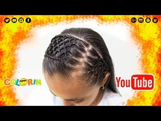 Peinado con trenza | Tejido panal | Diadema con cabello | honeycomb headband hairstyle - YouTube