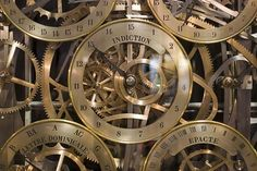 Ecclesiastical clock of Strasbourg cathedral